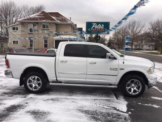 Used 2015 Dodge Ram 1500 LARAMIE CREW 4X4 for sale in Dunnville, ON