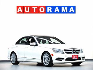 Used 2011 Mercedes-Benz C250 LEATHER SUNROOF 4WD BACKUP SENSOR for sale in North York, ON