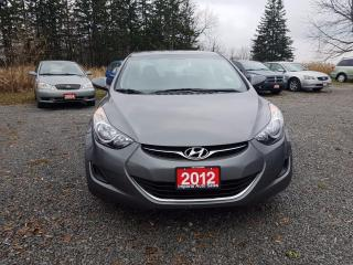 Used 2012 Hyundai Elantra GLS LOW KMS for sale in Gormley, ON