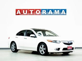 Used 2011 Acura TSX TECH PKG NAVIGATION LEATHER SUNROOF ALLOYS BACKUP for sale in North York, ON
