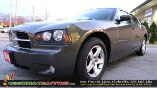 Used 2010 Dodge Charger SXT|LOW KM|NO ACCIDENT|LEATHER|ALLOYS|CERTIFIED for sale in Oakville, ON