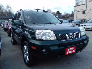 Used 2006 Nissan X-Trail LE,Leather,Sunroof,alloywheel for sale in Scarborough, ON