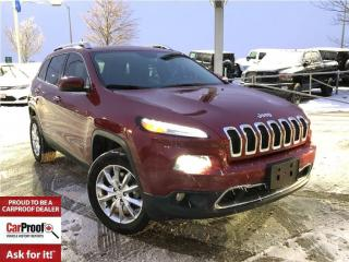 Used 2015 Jeep Cherokee LIMITED**NAVIGATION**POWER LIFT- GATE** for sale in Mississauga, ON