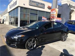 Used 2015 Dodge Dart GT.. Auto/ Air/Leather/Sunroof for sale in Burlington, ON