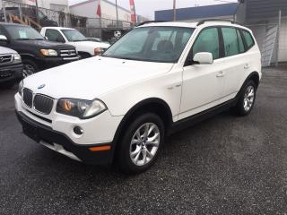 Used 2008 BMW X3 3.0i Coquitlam Location - 604-298-6161 for sale in Langley, BC