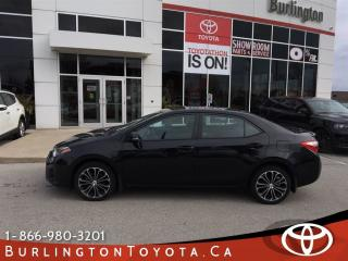 Used 2015 Toyota Corolla sport upgrade for sale in Burlington, ON