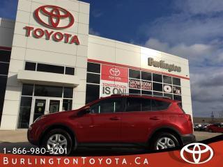 Used 2015 Toyota RAV4 LE  REMOTE STARTER for sale in Burlington, ON