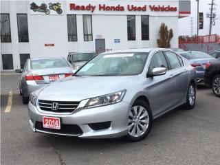 Used 2014 Honda Accord Sedan LX - Heated Seats - Rear Camera for sale in Mississauga, ON