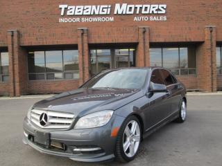 Used 2011 Mercedes-Benz C-Class NAVIGATION | 4 MATIC | REAR VIEW CAMERA | for sale in Mississauga, ON