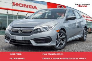 Used 2016 Honda Civic EX | Automatic for sale in Whitby, ON