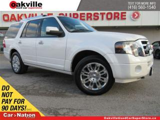 Used 2011 Ford Expedition Limited | AWD | LEATHER | 7 PASS | NAVI | B/U CAM for sale in Oakville, ON