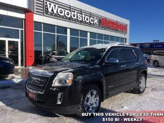 Used 2011 GMC Terrain SLT-2  - Sunroof -  Leather Seats - $132.66 B/W for sale in Woodstock, ON