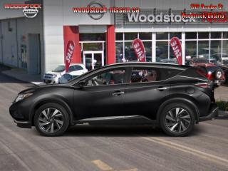 Used 2016 Nissan Murano SV  - Sunroof -  Navigation - $188.93 B/W for sale in Woodstock, ON