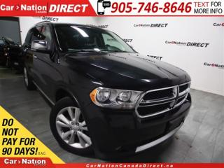 Used 2012 Dodge Durango Crew Plus| AWD| DVD| SUNROOF| NAVI| for sale in Burlington, ON
