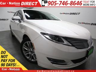 Used 2013 Lincoln MKZ | LEATHER| BACK UP CAMERA & SENSORS| for sale in Burlington, ON