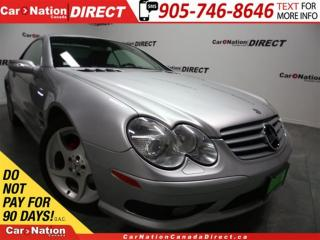 Used 2005 Mercedes-Benz SL-Class SL500 AMG| LEATHER| CONVERTIBLE| for sale in Burlington, ON