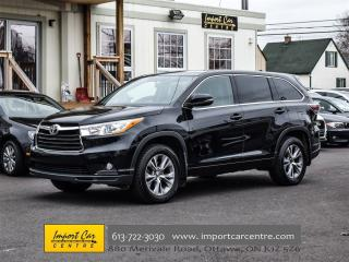 Used 2015 Toyota Highlander LE 8 PASS, SUNROOF, AWD, STUNNING!! for sale in Ottawa, ON