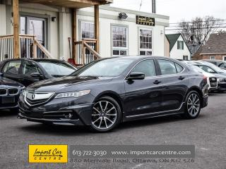 Used 2015 Acura TLX V6 Elite for sale in Ottawa, ON