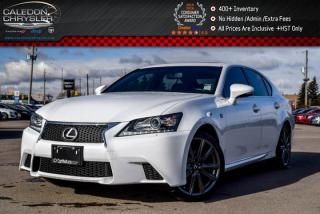 Used 2014 Lexus GS 350 AWD|Navi|Sunroof|Backup Cam|Bluetooth|Leather|Heat and Cool FRT Seats|18