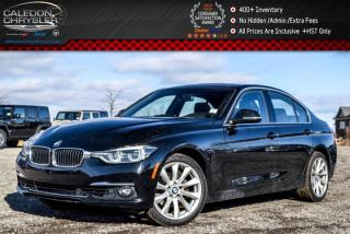 Used 2017 BMW 3 Series 330i xDrive|Navigation|Sunroof|Bluetooth|Heated Front Seats|18