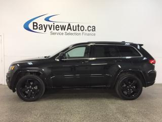 Used 2015 Jeep Grand Cherokee LAREDO- 4x4 REM STRT ROOF HTD STS NAV PWR TRUNK! for sale in Belleville, ON