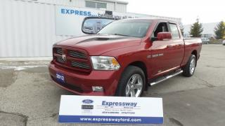 Used 2012 Dodge Ram 1500 Sport 4x4 5.7L Hemi Leather, Moon for sale in Stratford, ON