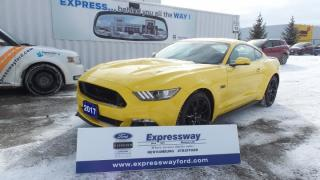 Used 2017 Ford Mustang GT 5.0L V8 435Hp Leather for sale in Stratford, ON