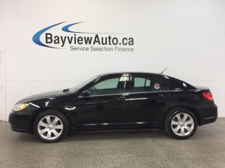 Used 2013 Chrysler 200 TOURING- 2.4L|AUTO|REM STRT|HTD STS|PUSH BTN STRT! for sale in Belleville, ON