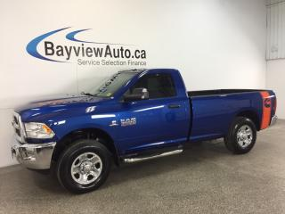 Used 2015 Dodge Ram 3500 SLT- CUMMINS|6 SPD|8' BOX|REG CAB|ALPINE|UCONNECT! for sale in Belleville, ON