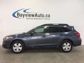 Used 2016 Subaru Outback - AWD|HTD SEATS|REV CAM|BLUETOOTH|CRUISE|A/C! for sale in Belleville, ON