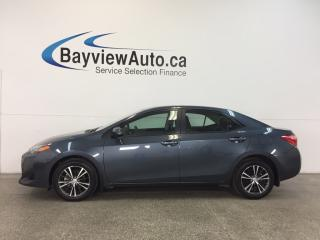 Used 2017 Toyota Corolla LE- 1.8L|ROOF|HTD STS|REV CAM|ADAPTIVE CRUISE|LDW! for sale in Belleville, ON