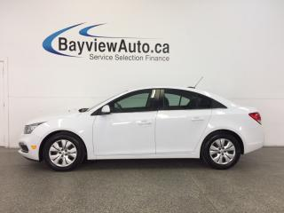 Used 2016 Chevrolet Cruze LT- TURBO|REM STRT|REV CAM|CRUISE|MY LINK! for sale in Belleville, ON
