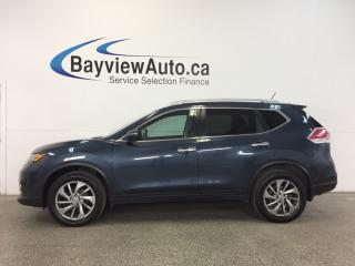 Used 2015 Nissan Rogue SL- AWD|2.5L|PANOROOF|HTD LTHR|BSA|BOSE|REV CAM! for sale in Belleville, ON