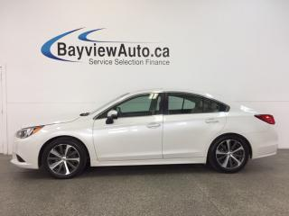 Used 2015 Subaru Legacy LTD- AWD|SUNROOF|HTD LTHR|NAV|BSA|REV CAM! for sale in Belleville, ON