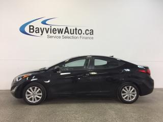 Used 2016 Hyundai Elantra SPORT- ALLOYS|HTD SEATS|REV CAM|BLUETOOTH|CRUISE! for sale in Belleville, ON