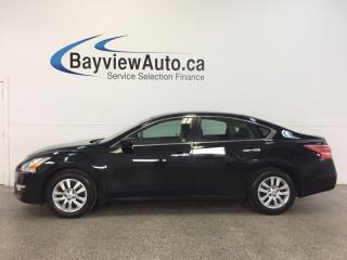 Used 2013 Nissan Altima S- 2.5L|PUSH BTN STRT|A/C|BLUETOOTH|CRUISE! for sale in Belleville, ON