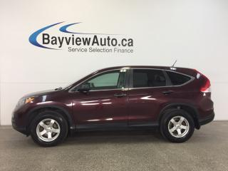 Used 2014 Honda CR-V LX- AWD|ECO MODE|REV CAM|BLUETOOTH|CRUISE! for sale in Belleville, ON