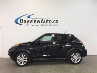 Used 2017 Nissan Juke SV- TURBO|AWD|HTD STS|REV CAM|BLUETOOTH! for sale in Belleville, ON