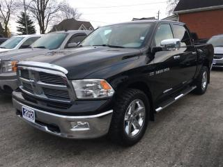 Used 2012 Dodge Ram 1500 BIG  HORN  4X4  CREW for sale in Belmont, ON