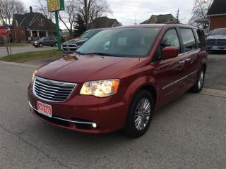 Used 2016 Chrysler Town & Country Touring LEATHER, NAVIGATION for sale in Belmont, ON