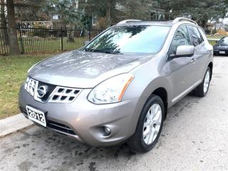 Used 2012 Nissan Rogue SL  AWD  NAV., LEATHER, ROOF. for sale in Belmont, ON