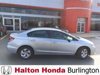 Used 2013 Honda Civic LX (A5) for sale in Burlington, ON