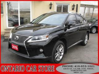 Used 2015 Lexus RX 350 AWD NAVIGATION LEATHER SUNROOF for sale in Toronto, ON