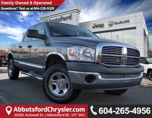 Used 2008 Dodge Ram 1500 SLT *LOW KM FOR THE YEAR* for sale in Abbotsford, BC