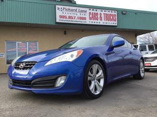 Used 2010 Hyundai Genesis Coupe 2.0T $101.43 BI WEEKLY! $0 DOWN! CERTIFIED! for sale in Bolton, ON