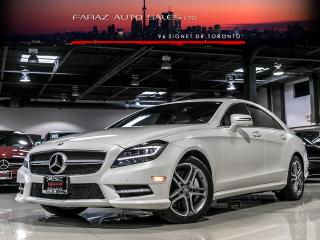Used 2013 Mercedes-Benz CLS550 AWD BLINDSPOT MASSAGE LED COOLED SEATS FULLY LOADED for sale in North York, ON