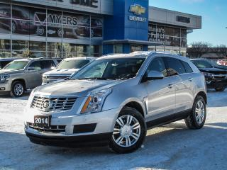Used 2014 Cadillac SRX LUXURY AWD, NAV, SUNROOF, BLIND ZONE ALERT! for sale in Ottawa, ON