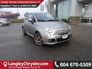 Used 2015 Fiat 500 Sport *ACCIDENT FREE*ONE OWNER*LOCAL BC CAR* for sale in Surrey, BC