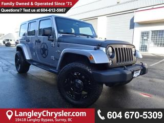 Used 2014 Jeep Wrangler Unlimited Sahara for sale in Surrey, BC