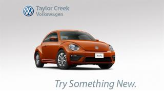 New 2018 Volkswagen Beetle Coast 2.0T 6sp at w/Tip for sale in Orleans, ON